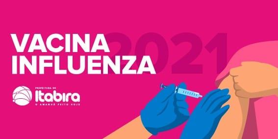 Saiba quem pode se vacinar contra a gripe em Itabira na 3ª fase da campanha