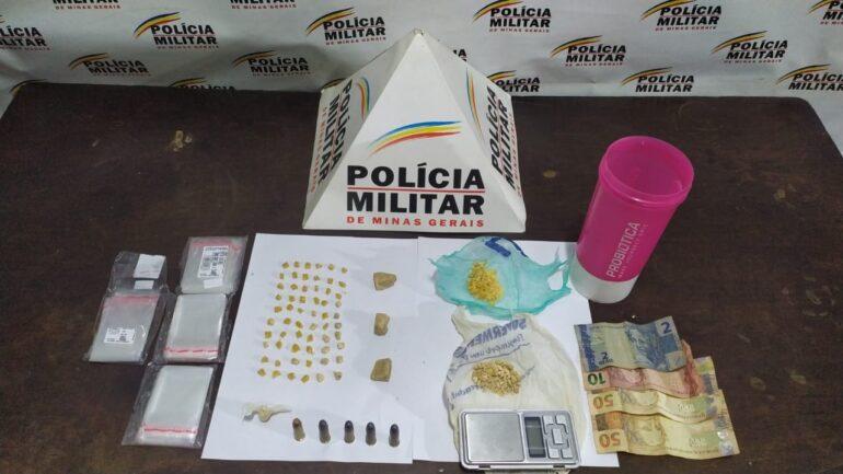 Mãe e filho são presos por tráfico de drogas em Santa Bárbara