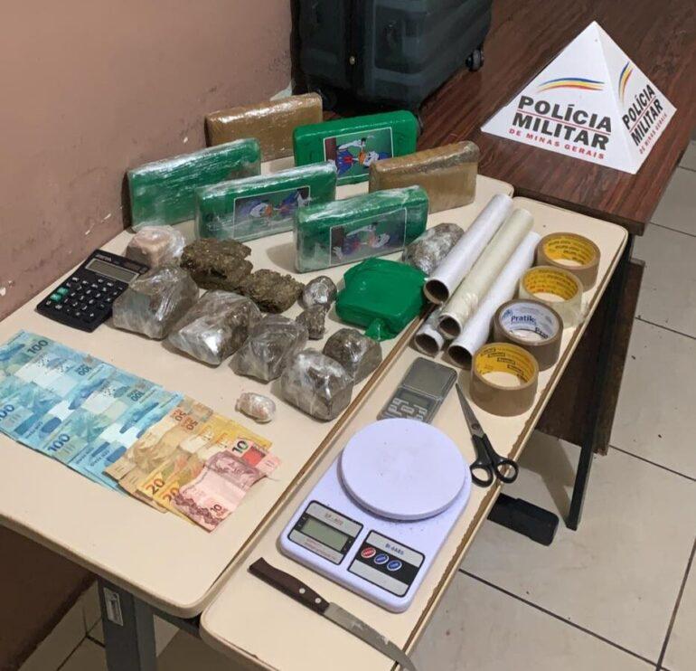 Casal é preso por tráfico de drogas em bairro valorizado de Timóteo