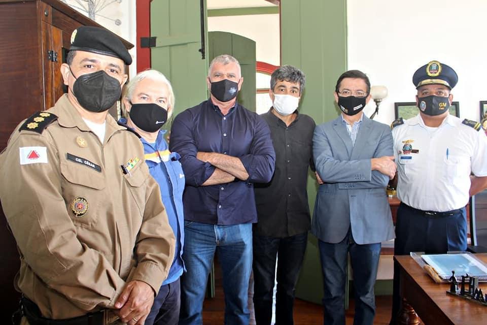 Secretário de Justiça e Segurança Pública visita Conceição do Mato Dentro