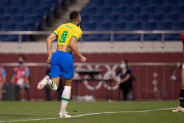 Olímpiada: seleção masculina de futebol elimina Egito e se classifica para a semifinal