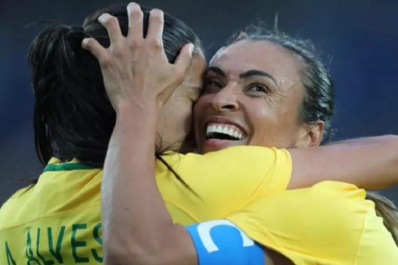 Jogos Olímpicos: Marta faz história em goleada do Brasil sobre a China