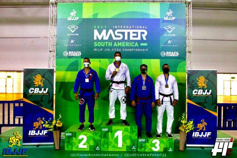 Monlevadense é campeão em campeonato internacional de Jiu-jitsu