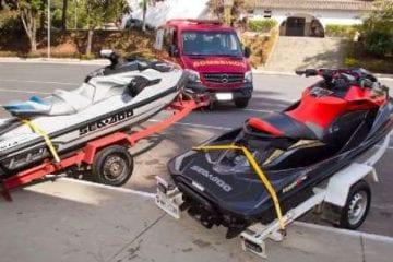 Ministério Público doa jet skis apreendidos ao Corpo de Bombeiros