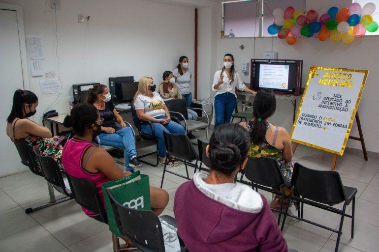 Agosto Dourado: mês de incentivo ao aleitamento materno