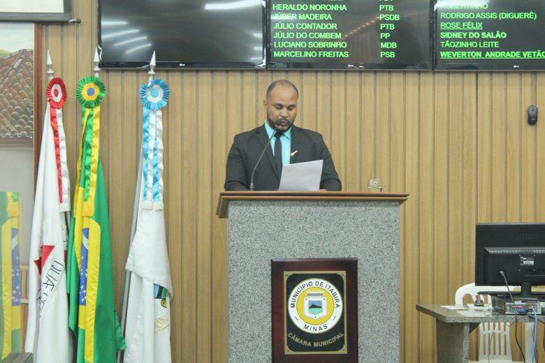 Vereador Sidney do Salão cobra maior oferta de ônibus em Itabira