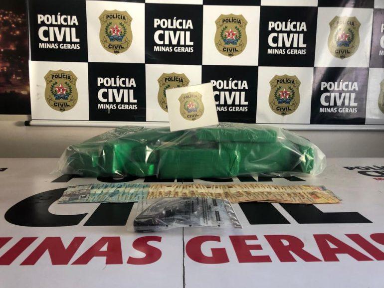 Dois homens são presos por tráfico de drogas em Ipatinga