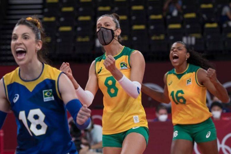 Brasil vence russas e vai à semifinal no vôlei feminino das Olímpiadas