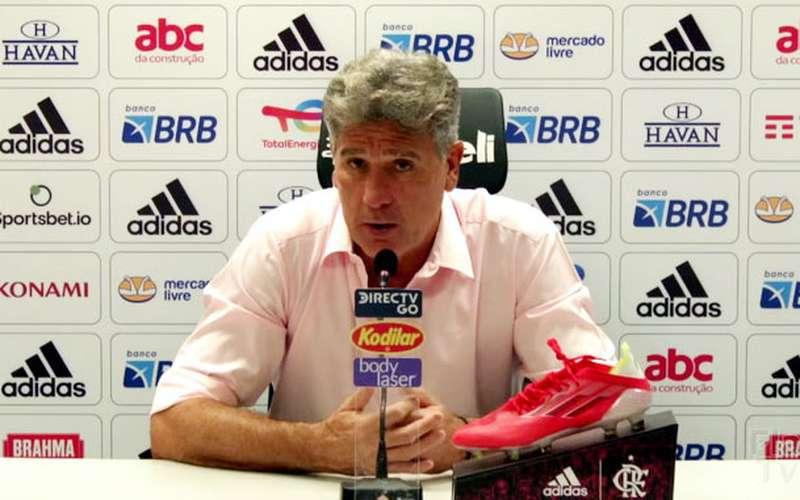 Renato fala da polarização Flamengo x Atlético: 'Não tem equipe imbatível'