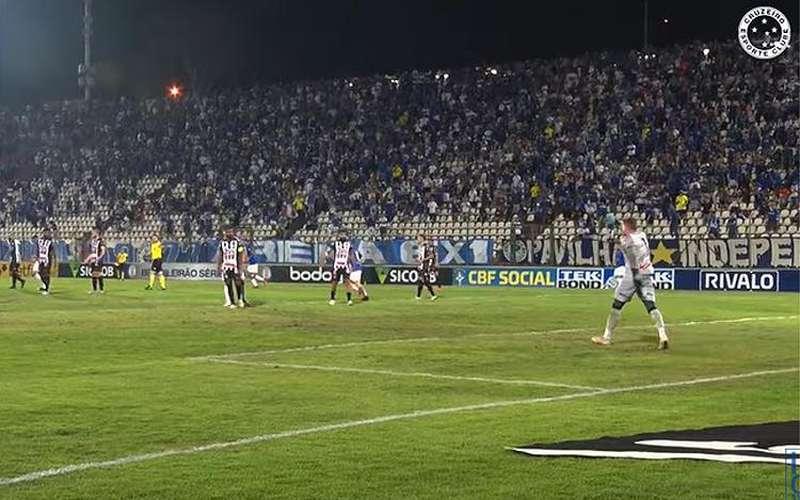 Sem lance polêmico, Cruzeiro divulga bastidores de jogo contra o Operário