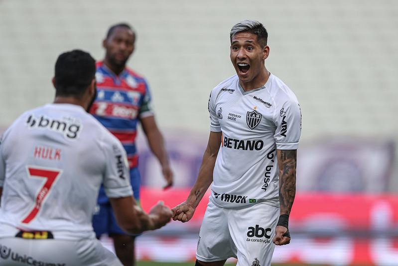 Brasileirão: Atlético-MG vence o Fortaleza e dispara na liderança; veja os gols