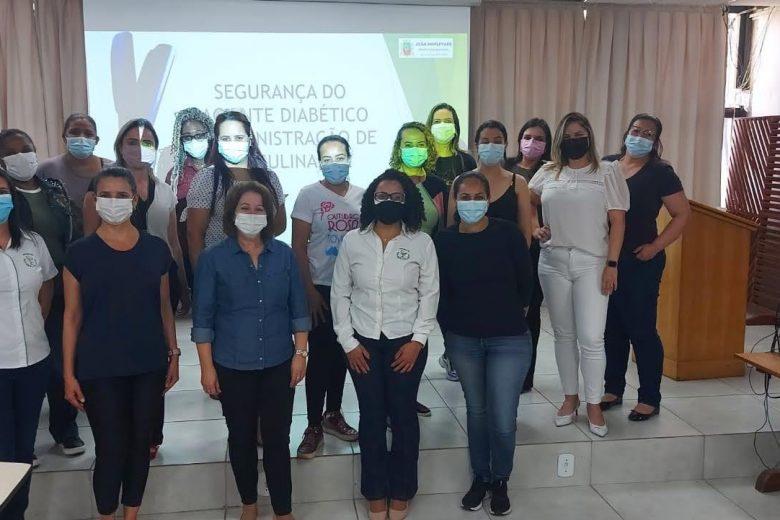 Prefeitura de Monlevade realiza treinamento sobre administração de insulinas