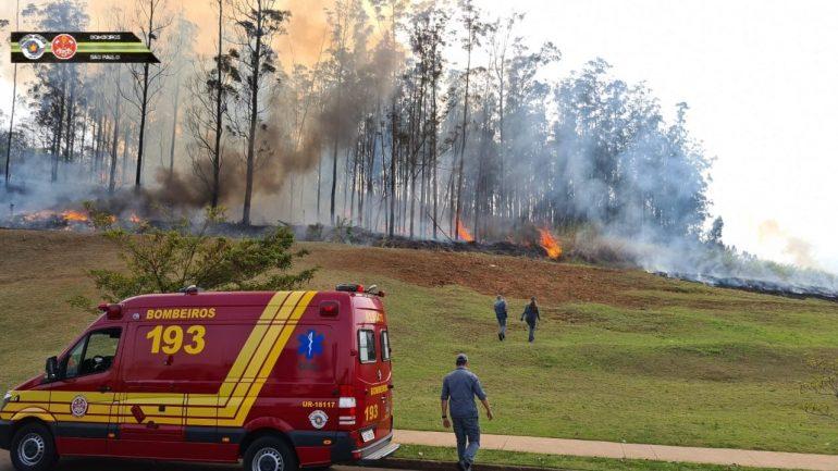 Avião cai em Piracicaba, em São Paulo, e sete pessoas morrem