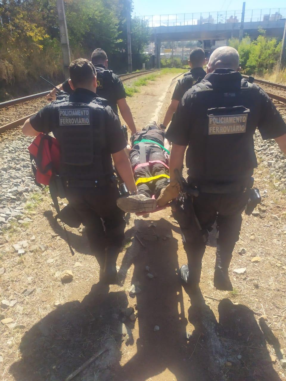 Homem é atropelado por metrô em Belo Horizonte nesta sexta-feira