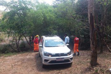 Corpo do jovem é encontrado na região da cachoeira do Taquaril