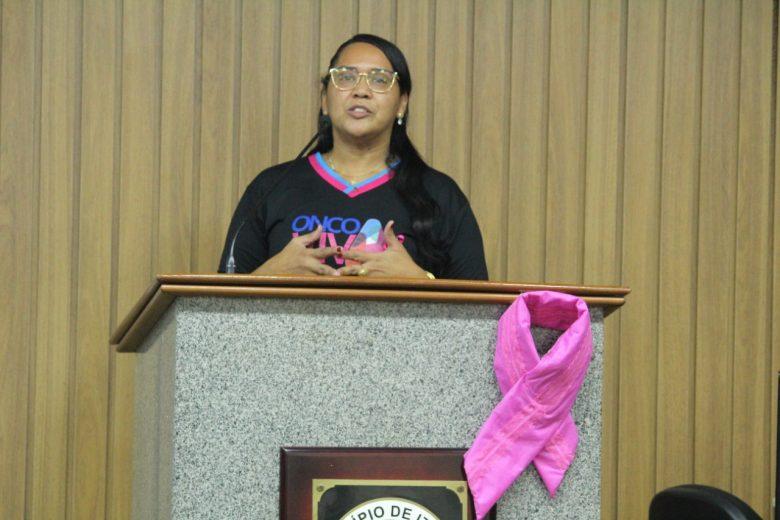 Outubro Rosa: Câmara de Itabira promove ações de prevenção ao câncer de mama