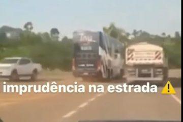 Motorista do cantor Tierry é flagrado fazendo manobras perigosas; veja o vídeo