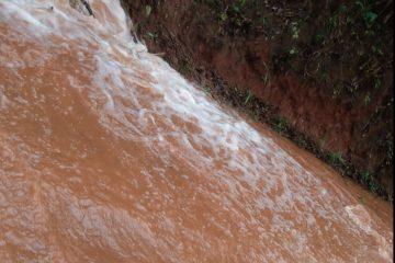 Adutora rompe e Monlevade está sem abastecimento de água nesta terça-feira