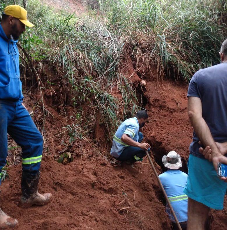 Abastecimento de água em João Monlevade está reduzido a 40%