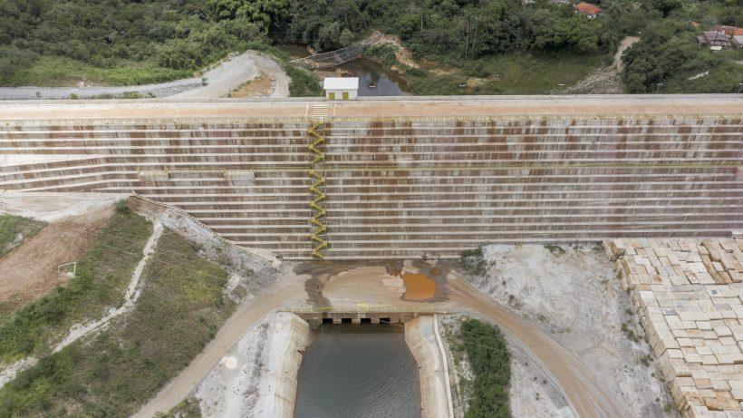 Barão: redução da mancha de inundação de barragem permite desmobilização de recursos emergenciais